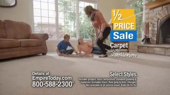 Empire Today Half Price Sale TV Spot, 'Beautiful Floors' - Thumbnail 4