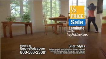 Empire Today Half Price Sale TV Spot, 'Beautiful Floors' - Thumbnail 5