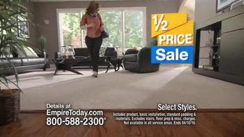 Empire Today Half Price Sale TV Spot, 'Beautiful Floors' - Thumbnail 6