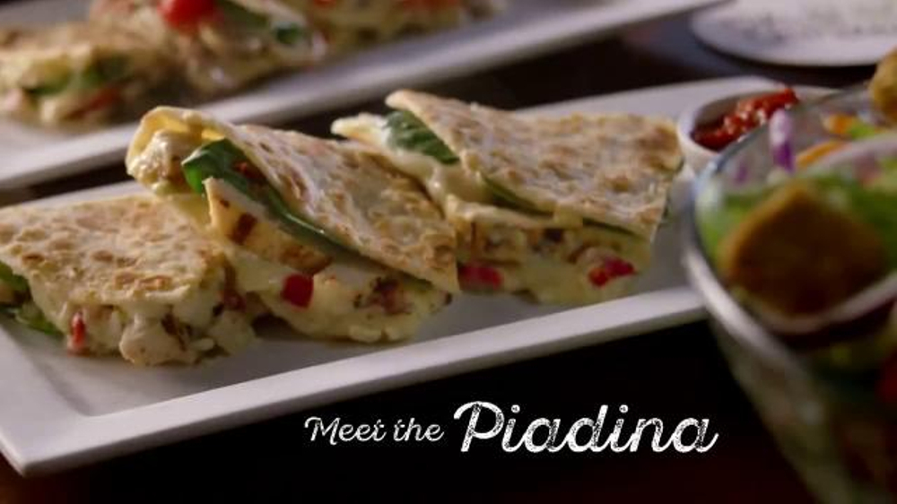 Olive Garden Piadina TV Commercial, 'Learn a Little Italian at Lunch'