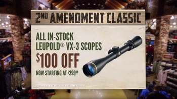 Cabela's 2nd Amendment Classic TV Spot, 'Support Your Rights' - Thumbnail 6