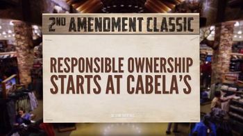Cabela's 2nd Amendment Classic TV Spot, 'Support Your Rights' - Thumbnail 8