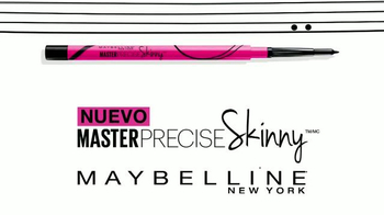 Maybelline Master Precise Skinny TV Spot, 'Domina los estilos' [Spanish] - Thumbnail 2