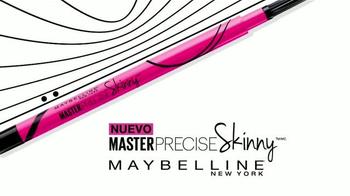 Maybelline Master Precise Skinny TV Spot, 'Domina los estilos' [Spanish] - Thumbnail 9