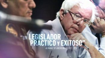 Bernie 2016 TV Spot, 'Eficaz' [Spanish]