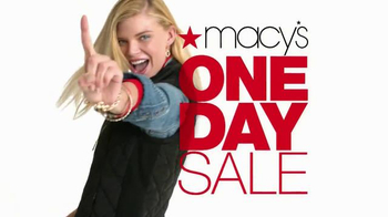 Macy's One Day Sale TV Spot, 'Savings Pass & Plenti' - Thumbnail 2