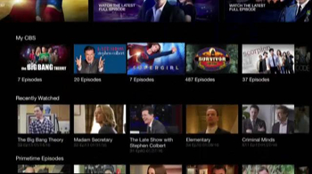 CBS.com TV Spot, 'All Access' - Thumbnail 6