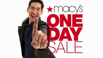Macy's One Day Sale TV Spot, 'Doorbusters: Suit Separates & Blazers' - Thumbnail 8