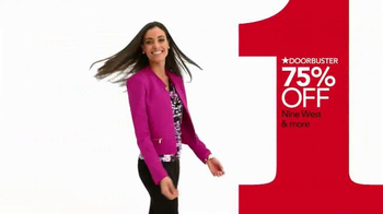 Macy's One Day Sale TV Spot, 'Doorbusters: Suit Separates & Blazers' - Thumbnail 2