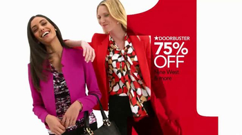Macy's One Day Sale TV Spot, 'Doorbusters: Suit Separates & Blazers' - Thumbnail 3