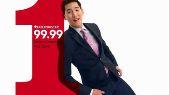 Macy's One Day Sale TV Spot, 'Doorbusters: Suit Separates & Blazers' - Thumbnail 4