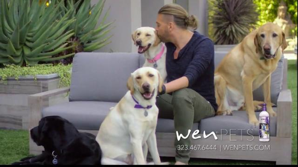 Wen Pets TV Commercial, 'Treats Skin and Coat'