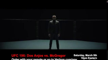 Fios by Verizon Pay-Per-View TV Spot, 'UFC 196: dos Anjos vs. McGregor' - Thumbnail 1