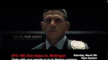 Fios by Verizon Pay-Per-View TV Spot, 'UFC 196: dos Anjos vs. McGregor' - Thumbnail 2
