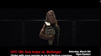 Fios by Verizon Pay-Per-View TV Spot, 'UFC 196: dos Anjos vs. McGregor' - Thumbnail 4