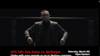 Fios by Verizon Pay-Per-View TV Spot, 'UFC 196: dos Anjos vs. McGregor' - Thumbnail 5