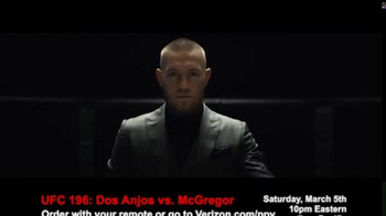 Fios by Verizon Pay-Per-View TV Spot, 'UFC 196: dos Anjos vs. McGregor' - Thumbnail 6