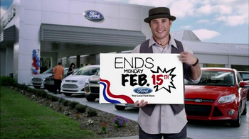 Ford Presidents' Day Event TV Spot, 'Focus, Fusion and Escape' - Thumbnail 1