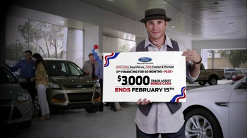 Ford Presidents' Day Event TV Spot, 'Focus, Fusion and Escape' - Thumbnail 3