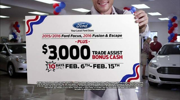 Ford Presidents' Day Event TV Spot, 'Focus, Fusion and Escape' - Thumbnail 7