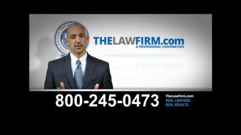 TheLawFirm.com TV Spot, 'Car Accident' - Thumbnail 10