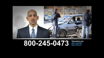 TheLawFirm.com TV Spot, 'Car Accident'