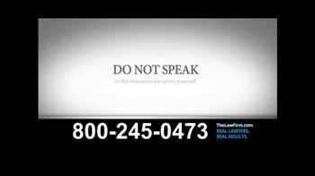 TheLawFirm.com TV Spot, 'Car Accident' - Thumbnail 4