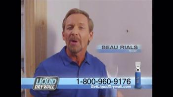 Liquid Drywall TV Spot, 'No Tools Needed' - Thumbnail 1