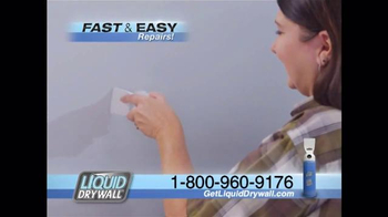 Liquid Drywall TV Spot, 'No Tools Needed' - 23 commercial airings