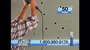 Liquid Drywall TV Spot, 'No Tools Needed' - Thumbnail 4