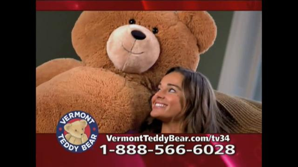Vermont Teddy Bear Big Hunka Love Bear TV Commercial, U0027Pile Of Awesomenessu0027    ISpot.tv