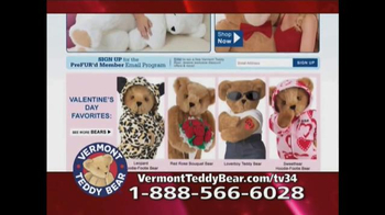 Vermont Teddy Bear Big Hunka Love Bear TV Spot, 'Pile of Awesomeness' - Thumbnail 10