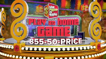 CBS The Price Is Right Play at Home Game TV Spot, 'Win $1,000 Cash' - Thumbnail 3