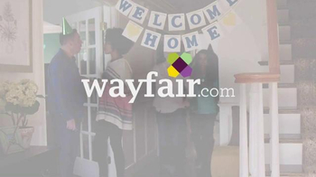 Wayfair Presidents' Day Blowout Sale TV Spot, 'Welcome Home' - Thumbnail 1