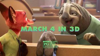 Subway TV Spot, 'Disney's Zootopia Comes to Subway' - Thumbnail 10