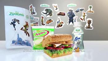 Subway TV Spot, 'Disney's Zootopia Comes to Subway' - Thumbnail 8