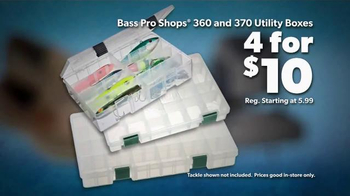 Bass Pro Shops Spring Fishing Classic TV Spot, 'Utility Boxes and Reels' - Thumbnail 3
