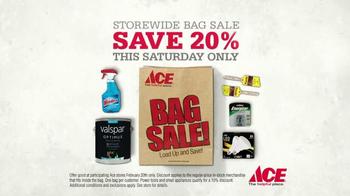 ACE Hardware Storewide Bag Sale TV Spot, 'Fill It Up' - Thumbnail 3