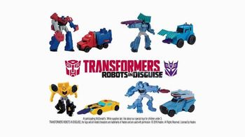 McDonald's Happy Meal TV Spot, 'Transformers: Robots in Disguise' - Thumbnail 7