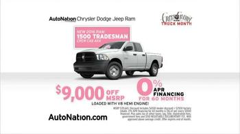 AutoNation Savings Event TV Spot, 'Ram 1500' - Thumbnail 2