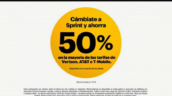 Sprint TV Spot, 'Millones de personas' [Spanish] - Thumbnail 1