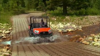 Kubota Get Set to Save Sales Event TV Spot, 'RTV X Series'