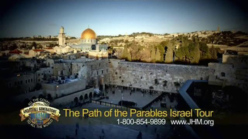 John Hagee Ministries TV Spot, 'The Path of the Parables Israel Tour' - Thumbnail 2