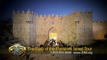 John Hagee Ministries TV Spot, 'The Path of the Parables Israel Tour' - Thumbnail 3