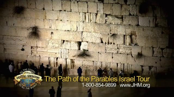 John Hagee Ministries TV Spot, 'The Path of the Parables Israel Tour' - Thumbnail 4