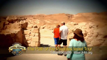 John Hagee Ministries TV Spot, 'The Path of the Parables Israel Tour' - Thumbnail 6