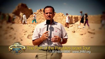John Hagee Ministries TV Spot, 'The Path of the Parables Israel Tour' - Thumbnail 7