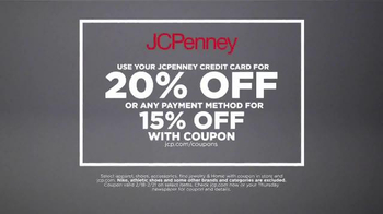 JCPenney Activewear Stock Up Sale TV Spot, 'Credit Card Bonus' - Thumbnail 6