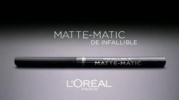 L'Oreal Paris Infallible Matte-Matic TV Spot, 'Cautivadora' [Spanish] - Thumbnail 4