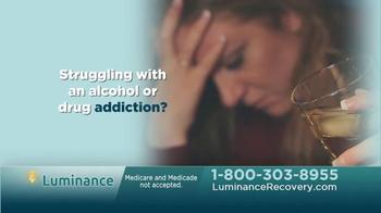Luminance Recovery TV Spot, 'Alcohol or Drug Addiction' - Thumbnail 1